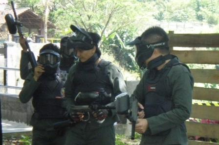 game outbound : paint ball