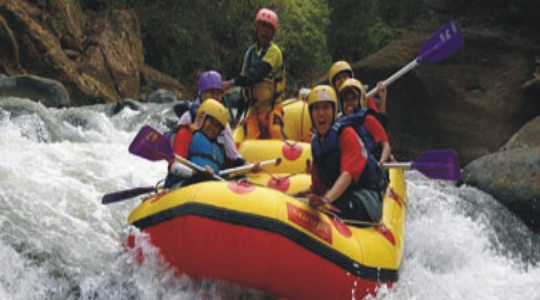 songa rafting dan outbound training
