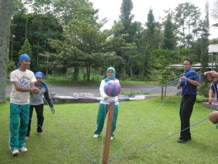 Lokasi outbound training di Malang