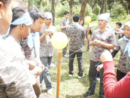 "Serunya Games Outbound ""Boom Waktu"""