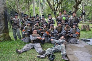 paint ball malang
