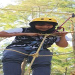 outbound malang nolimit adventure